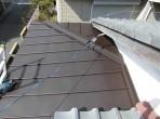 浜松市  玄関ポーチ屋根葺き替え工事